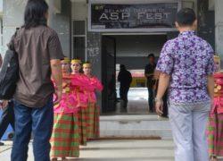 """Debut Sanggar Seni """"Katalis"""" FIB UHO pada Acara ASP FEST di Fakultas Teknik UHO"""