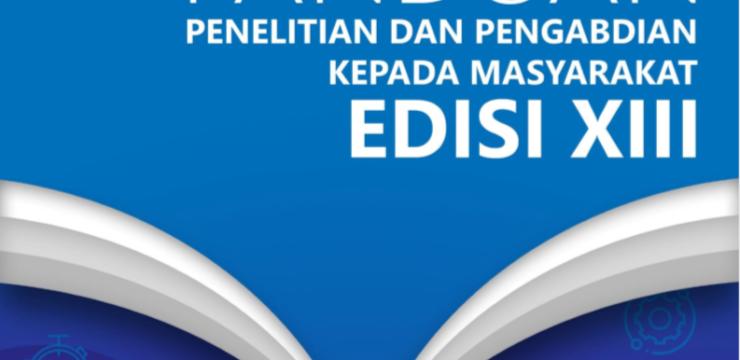 PELUNCURAN BUKU PANDUAN PENELITIAN DAN PENGABDIAN KEPADA MASYARAKAT EDISI XIII TAHUN 2020