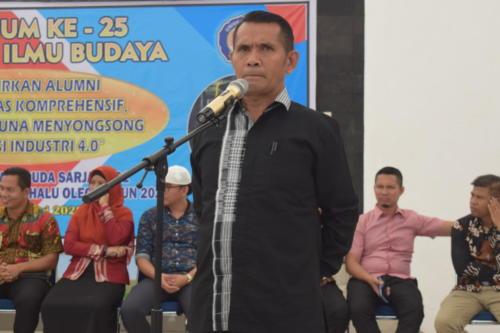Yudisium Mahasiswa Ke-25 Fakultas Ilmu Budaya Universitas Halu Oleo
